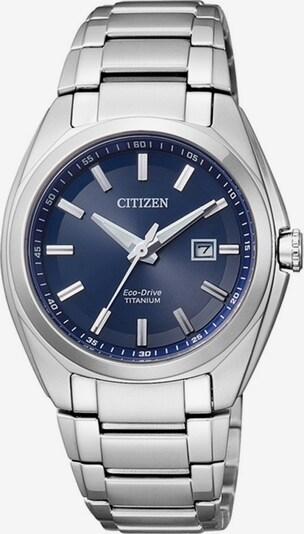 CITIZEN Armbanduhr  'EW2210-53L' in navy / silber, Produktansicht