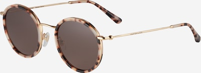 Kapten & Son Sunglasses 'Amsterdam' in brown / gold yellow, Item view