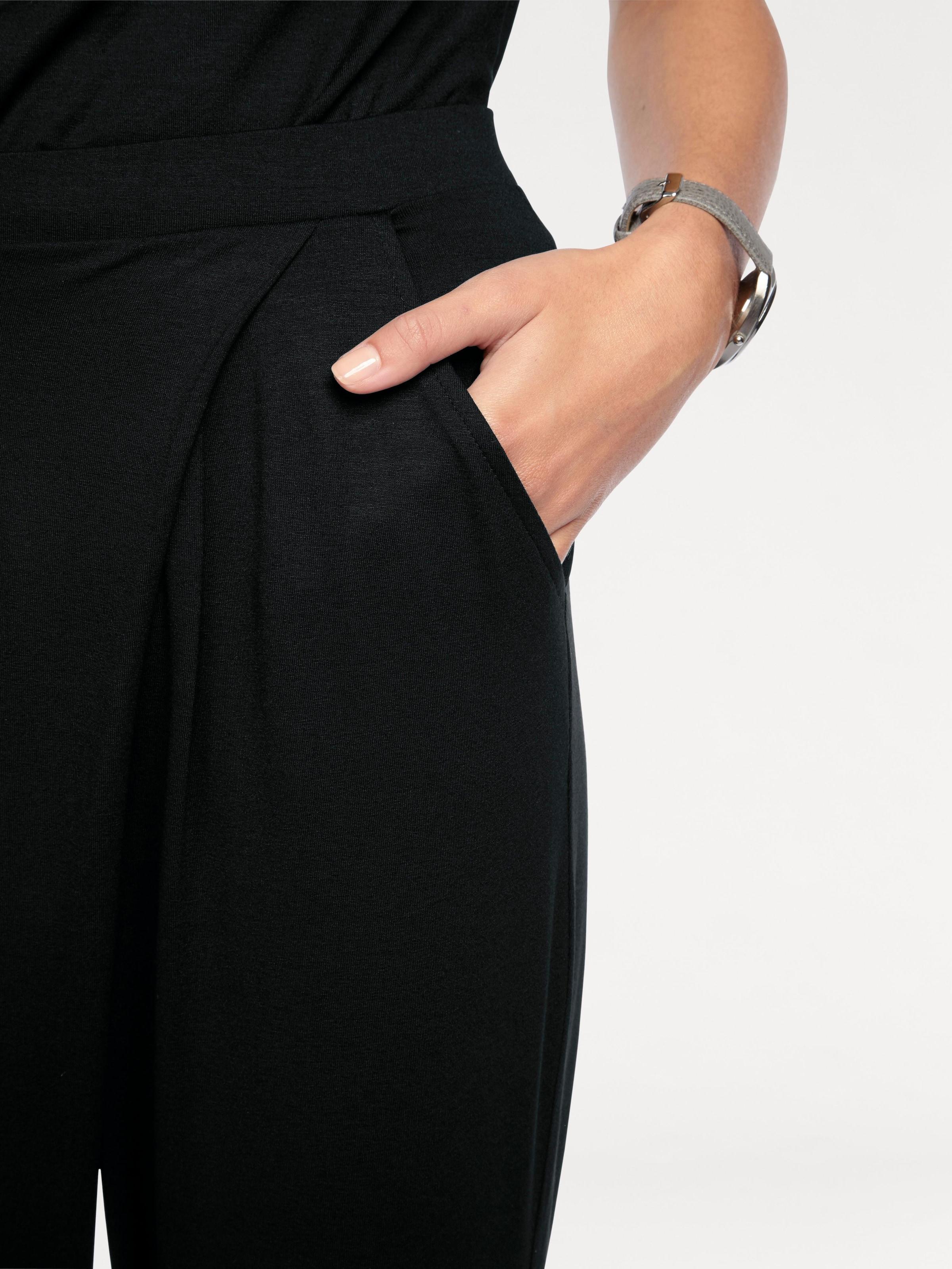 Linea Tesini by heine Jerseyhose mit Gummizugbund
