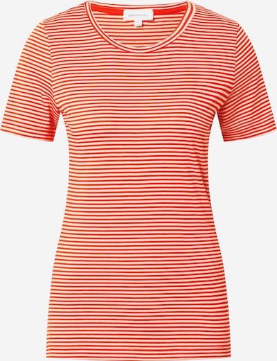 ARMEDANGELS Shirt 'LIDIAA' in orangerot / weiß, Produktansicht
