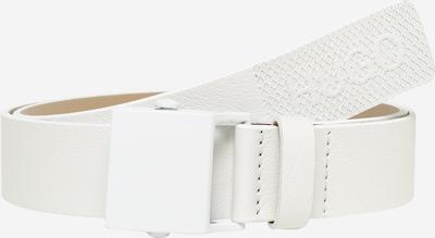 HUGO Ceinture 'Gabum_Sz35 10226202 01' en blanc, Vue avec produit