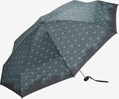 KNIRPS Regenschirm 'X1 Lotus' in basaltgrau / mint, Produktansicht