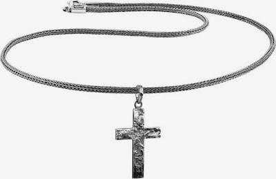 KUZZOI Halskette in silbergrau, Produktansicht