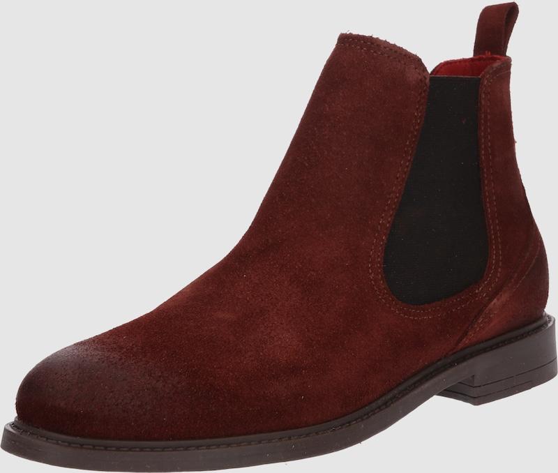 BUFFALO Chelsea Stiefel 'AMBROSIA Leder, Textil Bequem, gut aussehend