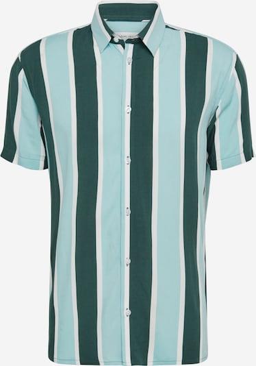 Casual Friday Shirt 'CFAlvin' in blau / grün / weiß, Produktansicht