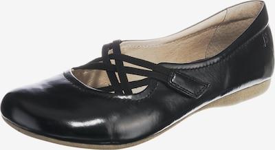 JOSEF SEIBEL Riemchenballerina 'Fiona' in schwarz, Produktansicht