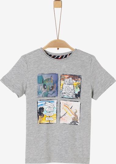 s.Oliver Junior T-Shirt in grau / mischfarben, Produktansicht