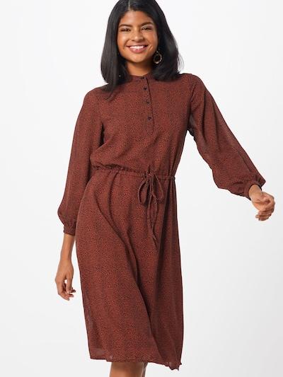 ICHI Kleid 'VIKTORIA' in rot, Modelansicht