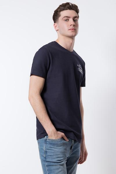 Finn Flare T-Shirt in kobaltblau: Frontalansicht
