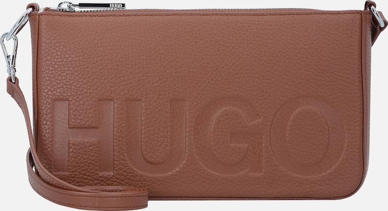HUGO Mayfair Umhängetasche Leder 23 cm