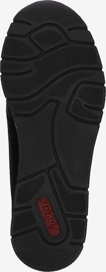RIEKER Sneakers laag in de kleur Zwart / Zilver: Onderaanzicht