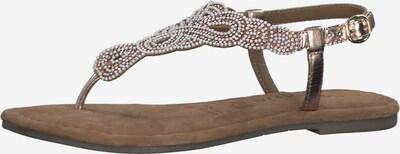 TAMARIS Sandale in bronze / rosa, Produktansicht