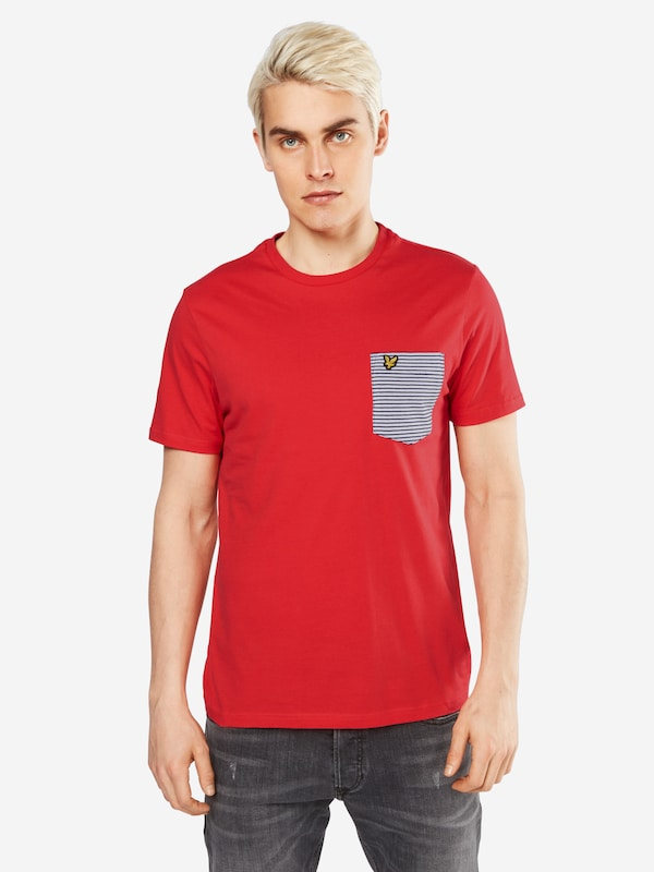 Lyle & Scott T-shirt Stripe Pocket