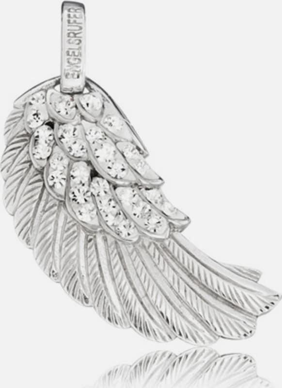 Engelsrufer Anhänger ohne Kette mit Kristallsteinen 'Flügel Crystal, ERW-01-ZI'