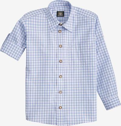OS-TRACHTEN Trachtenhemd in hellblau / weiß, Produktansicht
