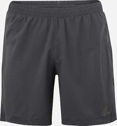 ADIDAS PERFORMANCE Sport-Shorts 'SUPERNOVA SHORT' in dunkelgrau, Produktansicht