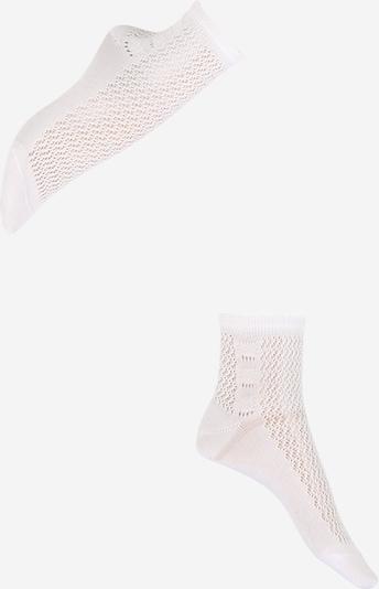 FALKE Chaussettes 'Basketwork SSO' en blanc, Vue avec produit