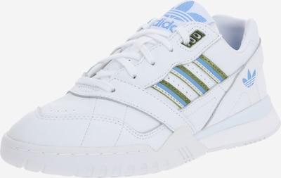 ADIDAS ORIGINALS Nizke superge 'A.R. Trainer' | svetlo modra / oliva / bela barva, Prikaz izdelka