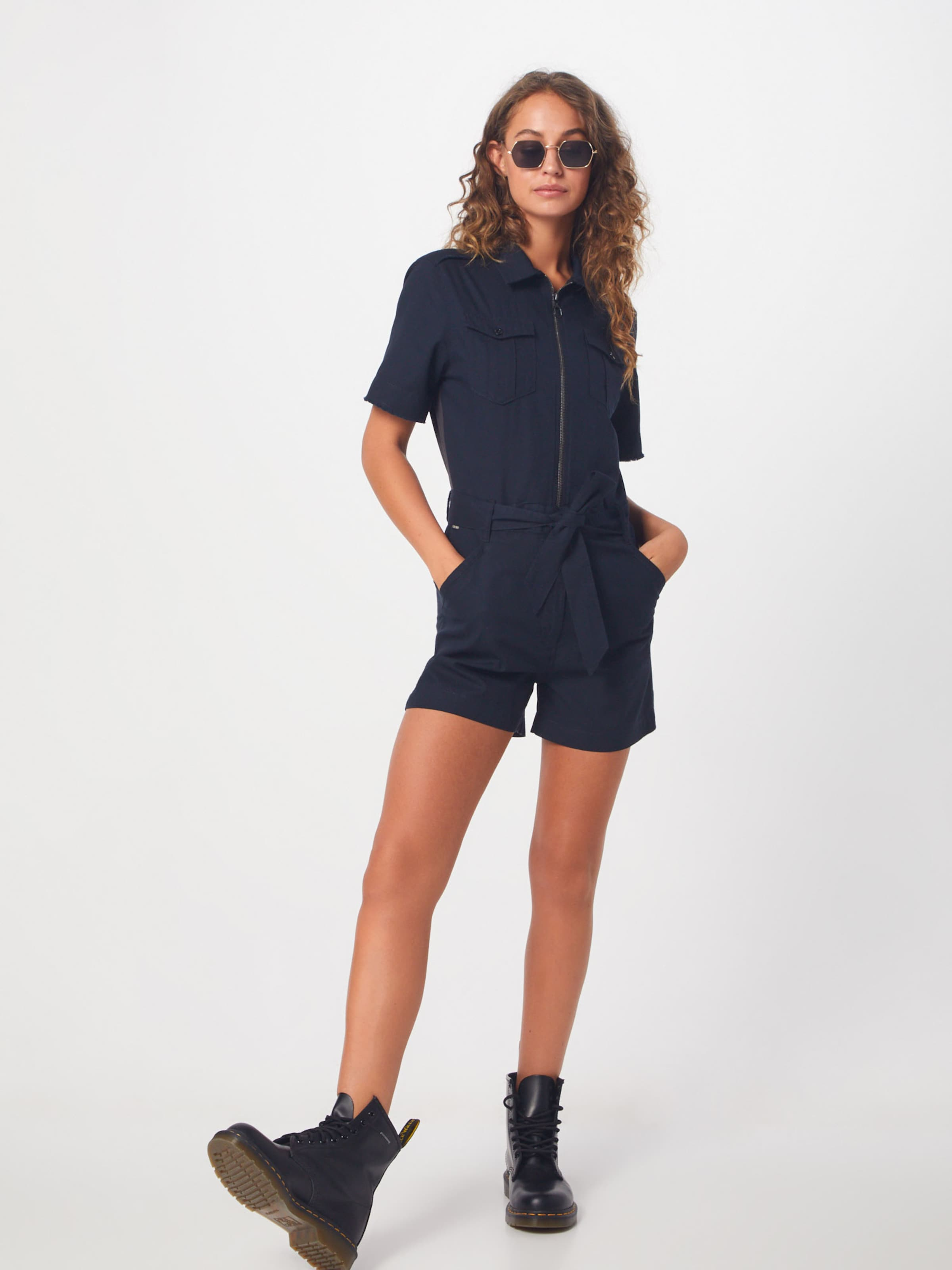 Overall star In G 'rovic' Raw Navy 5AcRjLq34