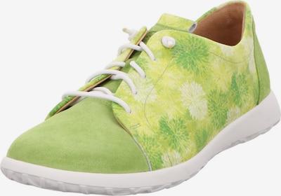 Ganter Schnürschuhe in grün, Produktansicht