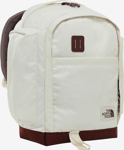 THE NORTH FACE Rucksack in burgunder / weiß, Produktansicht