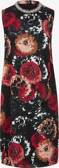 s.Oliver BLACK LABEL Kleid in mischfarben / schwarz: Frontalansicht