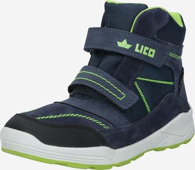 LICO Schuhe in marine: Frontalansicht