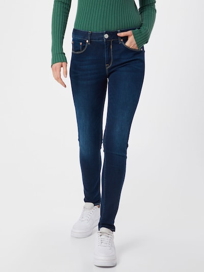 kék farmer Herrlicher Farmer 'Super G Slim Denim Powerstretch', Modell nézet