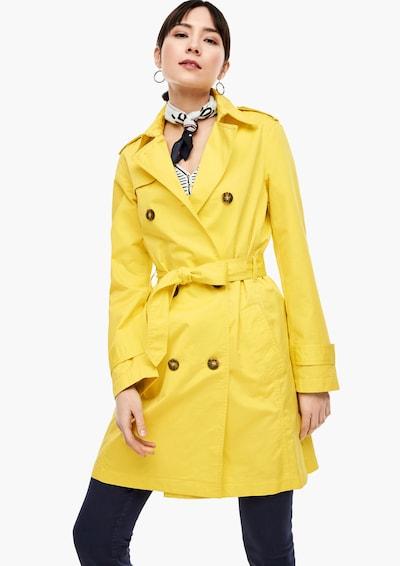 s.Oliver Trenchcoat in limone, Modelansicht