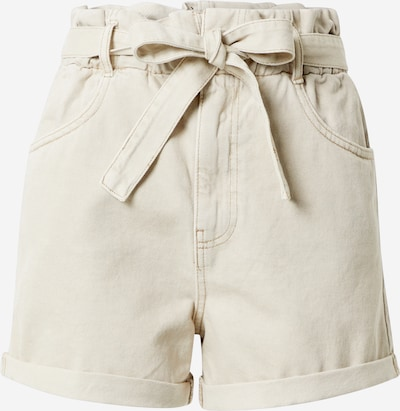 Gina Tricot Jeans 'Paperbag' in beige, Produktansicht