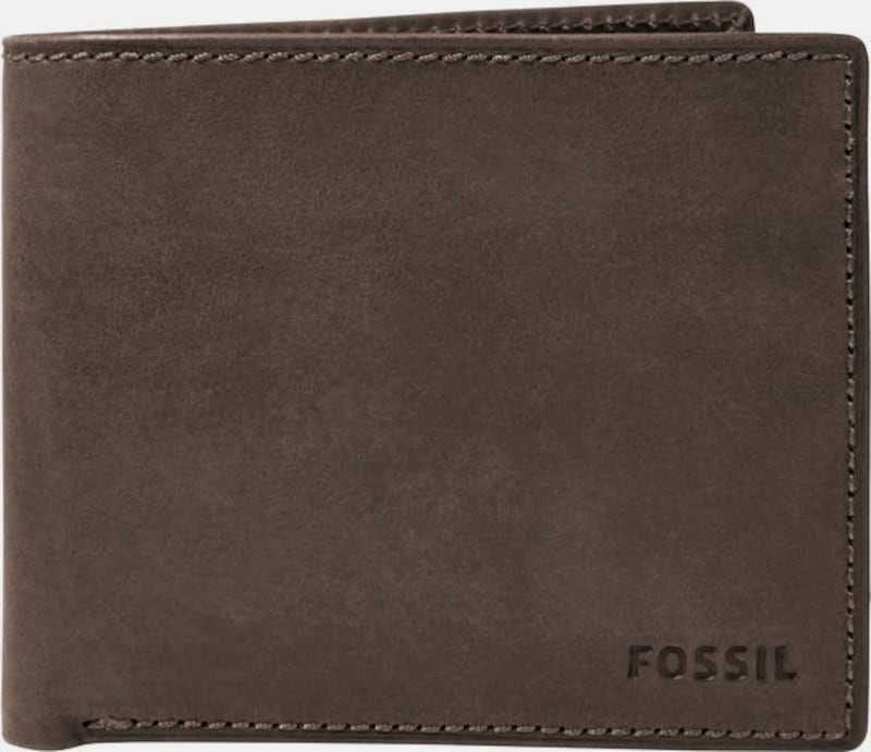 Fossil Wallet Nova Large Coin Pocket Of Leather