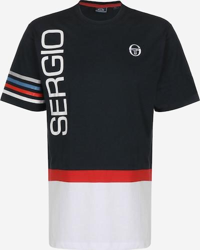 Sergio Tacchini Functioneel shirt 'Dennis' in de kleur Zwart, Productweergave