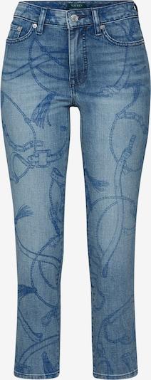 Jeans Lauren Ralph Lauren pe denim albastru, Vizualizare produs