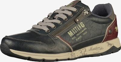 MUSTANG Sneaker in navy / blutrot, Produktansicht