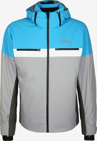 Colmar Outdoorjas 'GREENLAND' in de kleur Lichtblauw / Grijs / Wit, Productweergave