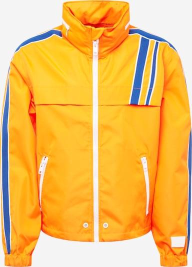 DIESEL Jacke 'J-Brock' in blau / gelb / weiß, Produktansicht
