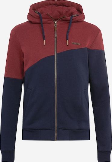 Ragwear Mikina s kapucí 'WINGS' - námořnická modř / červená třešeň, Produkt