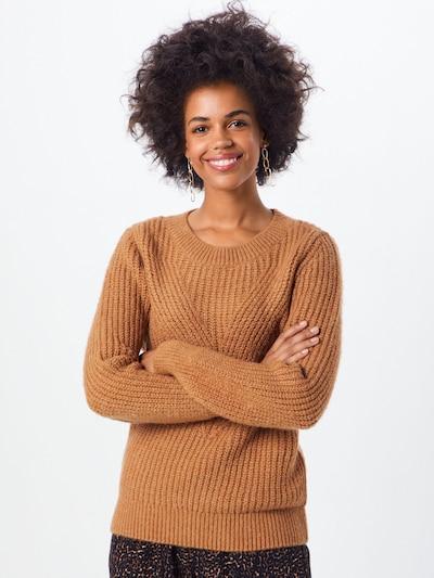 ONLY Pullover 'LOU' in braun, Modelansicht