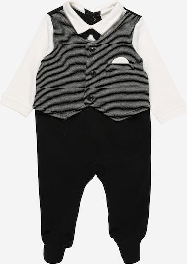 JACKY Rompertje/body in de kleur Zwart / Wit, Productweergave