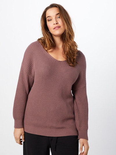 ABOUT YOU Curvy Pullover 'Tabea' in rosé, Modelansicht
