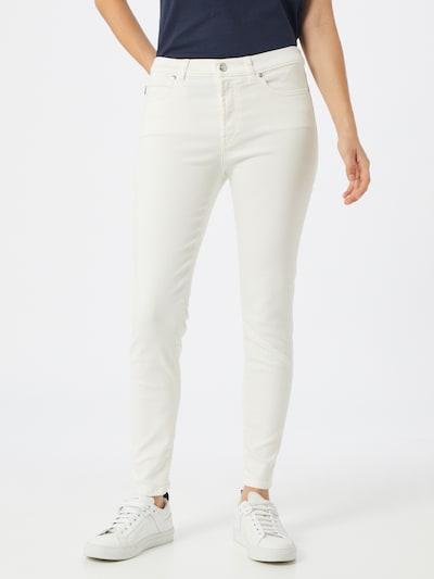 HUGO Jeans 'Charlie' in white denim: Frontalansicht