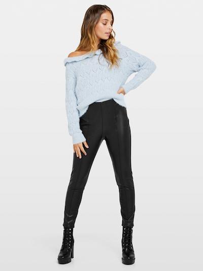 Miss Selfridge Kunstlederleggings in schwarz, Modelansicht