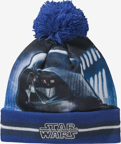 STAR WARS Star Wars Bommelmütze für Jungen in blau, Produktansicht