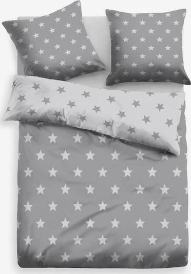 MY HOME Bettwäsche in grau, Produktansicht
