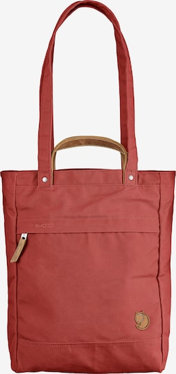 Fjällräven Sac bandoulière en rouge, Vue avec produit