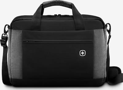 WENGER Aktentasche 'Underground' in graumeliert / schwarz, Produktansicht