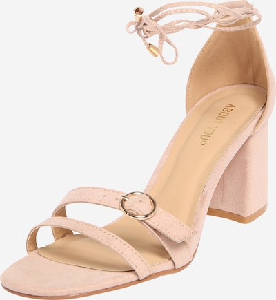 ABOUT YOU Sandalette 'Carlotta' in nude, Produktansicht