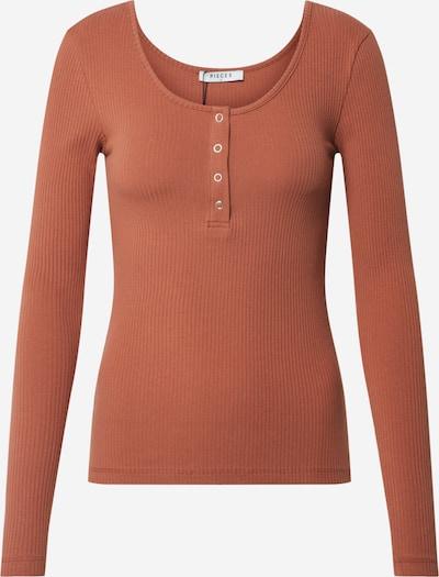 PIECES Shirt in de kleur Bruin, Productweergave