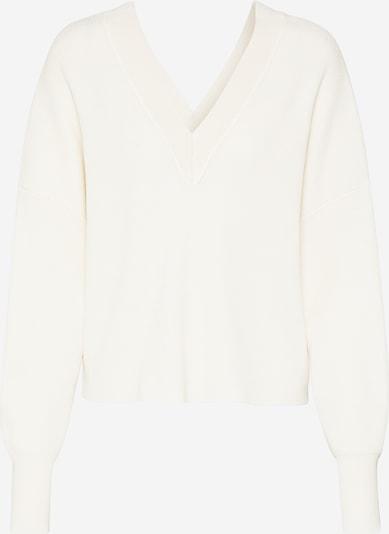 OBJECT Pullover 'Divian 108' in creme / weiß, Produktansicht