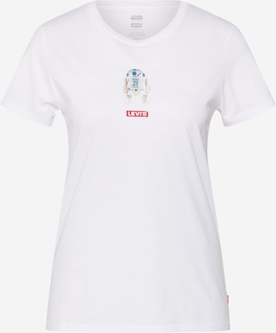LEVI'S Majica 'THE PERFECT TEE' | bela barva: Frontalni pogled